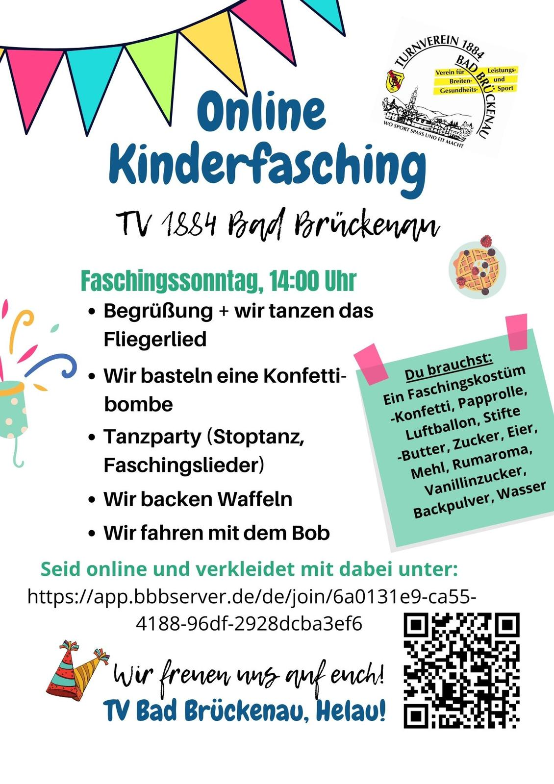 Online Kinderfasching TV BRK